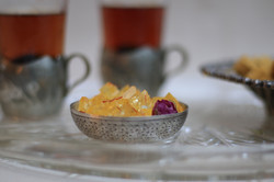 Persian Chai and a selection of Sweet Treats to help you finish off your meal - Persian style