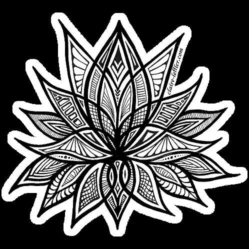 Lotus Flower Sticker