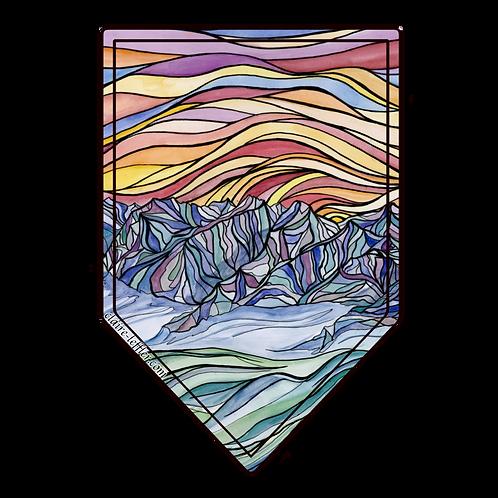Colorful San Juan Mountains Sticker