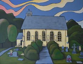 """""""Burial"""" Christ Church, Russel, NZ"""