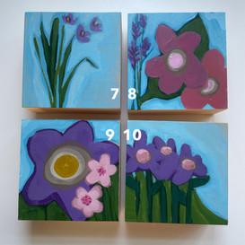 Floral minis: mix & match