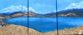 """""""Kalamalka Lake Triptych"""""""