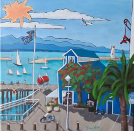"""""""Wakefield Quay"""" Nelson, NZ"""