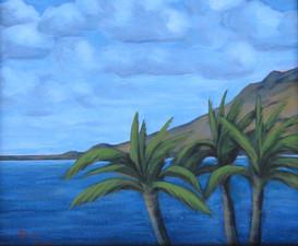 """""""Palms"""" Ma'alaea, Maui"""