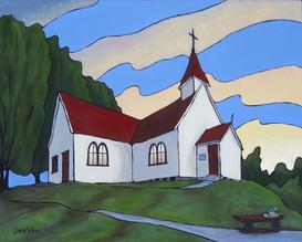 """""""Reconciliation"""" Methodist Church, Rawene, NZ"""