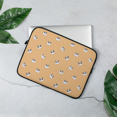 Laptop Sleeve 13in and 15in Panda