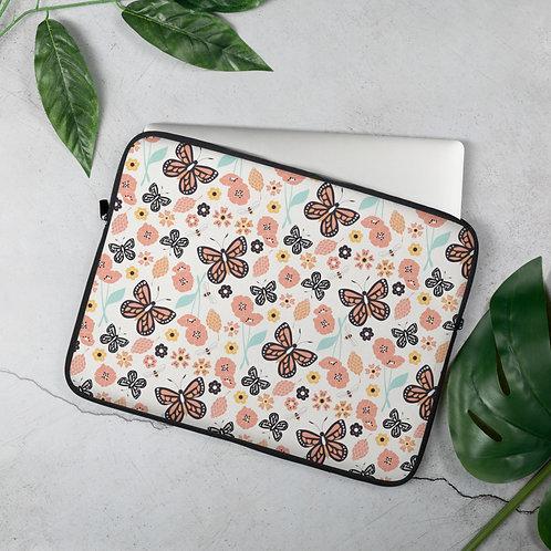 Laptop Sleeve 13 inch & 15 inch Butterflies