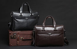 Genuine Leather 15.6 Inch Laptop Bag