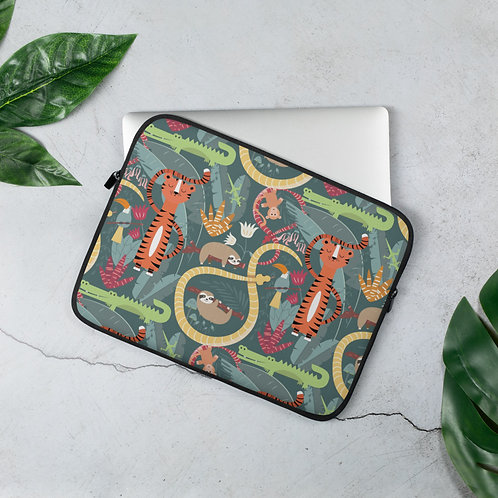Laptop Sleeve 13 inch & 15 Inch Jungle