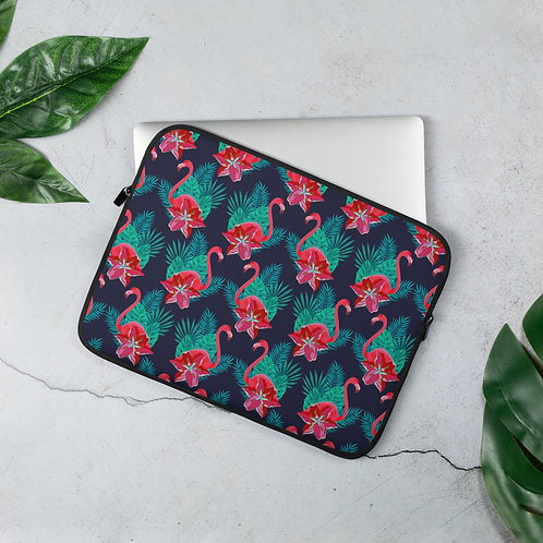 Laptop Sleeve 13in and 15in Flamingo