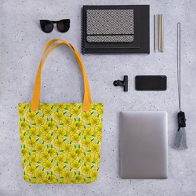 Tote bag pattern sun flower