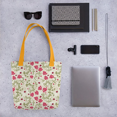 Rose and Ladybird - Tote bag