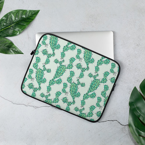 Laptop Sleeve 13 inch & 15 inch Cactus