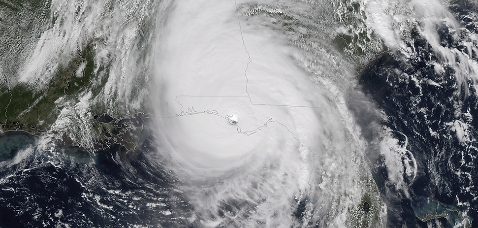 PHOTO - Hurricane Michael makes landfall