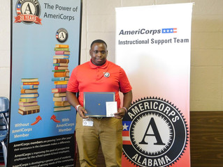Member Spotlight: Dexter Davidson, AmeriCorps Instructional Support Team Member
