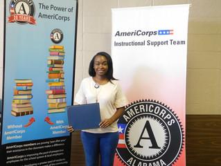 Member Spotlight: Zakiya Lewis, AmeriCorps Instructional Support Team Member
