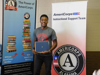 Member Spotlight: Arlyric Posey, AmeriCorps Instructional Support Team Member