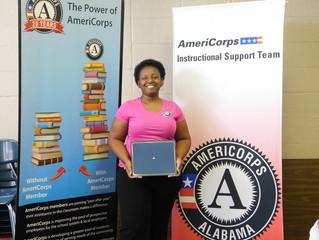 Member Spotlight: Shantara Reed, AmeriCorps Instructional Support Team Member