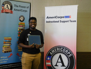 Member Spotlight: Cordarius Longmire, AmeriCorps Instructional Support Team Member