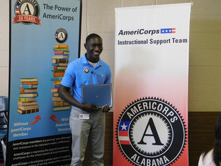 Member Spotlight: Payton Thomas, AmeriCorps Instructional Support Team Member