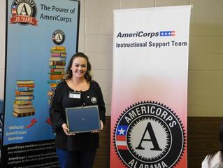 Member Spotlight: Whitney McCartey, AmeriCorps Instructional Support Team Member