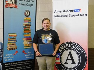 Member Spotlight: Abigail Miles, AmeriCorps Instructional Support Team Member