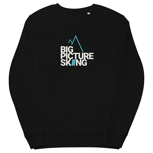 Big Picture Skiing Sweat Shirt/ Pullover