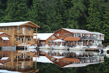Legacy Lodge is a floating salmon fishing lodge