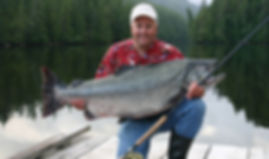 Legacy Lodge 60+ lb chinook salmon