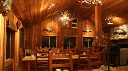 Legacy Lodge dining room
