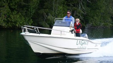 Legacy Lodge 18' Scout boat