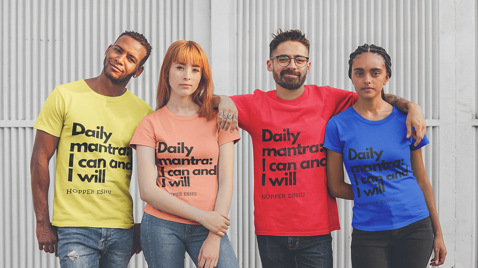 DAILY MANTRA Unisex Jersey Short Sleeve Tee