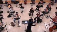 Barbosa-Vásquez dirigió para Concertinos de Orquestas de Primer Nivel