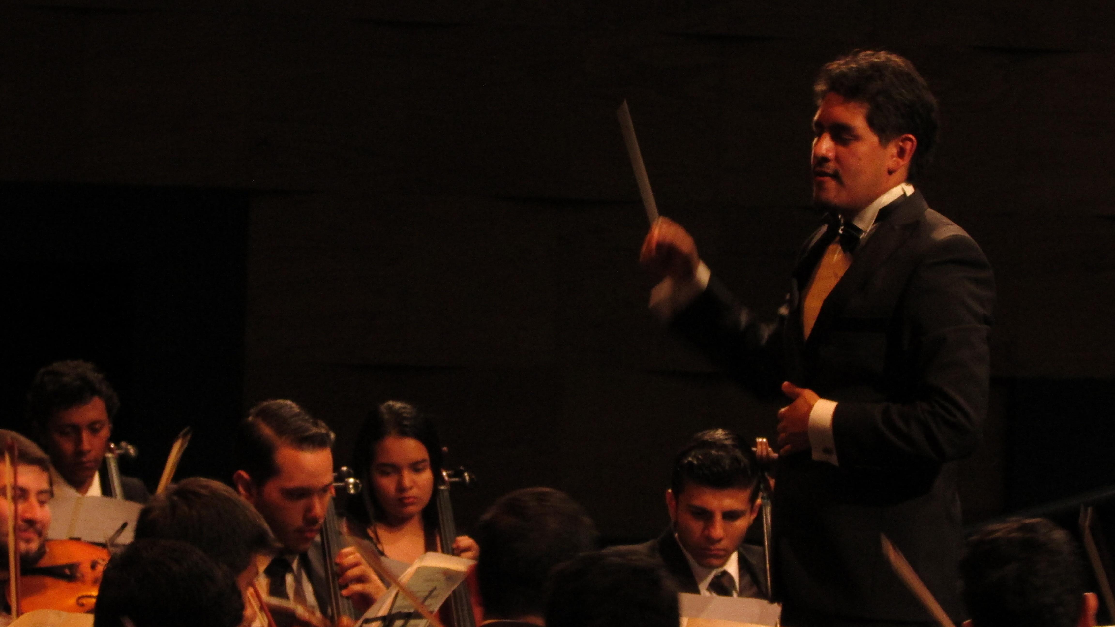 With Youth Symphony of El Salvador -Nov2