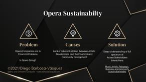 Opera Sustainability - By Diego Barbosa-Vásquez