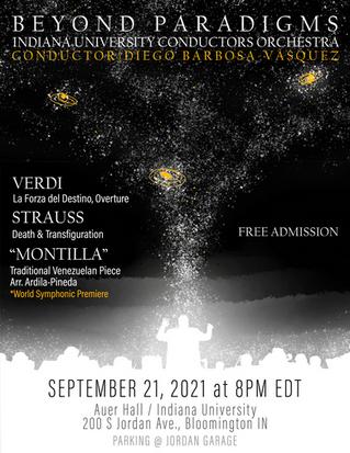Rompiendo Paradigmas: Música Latinx y Europea juntos en la sala de Conciertos