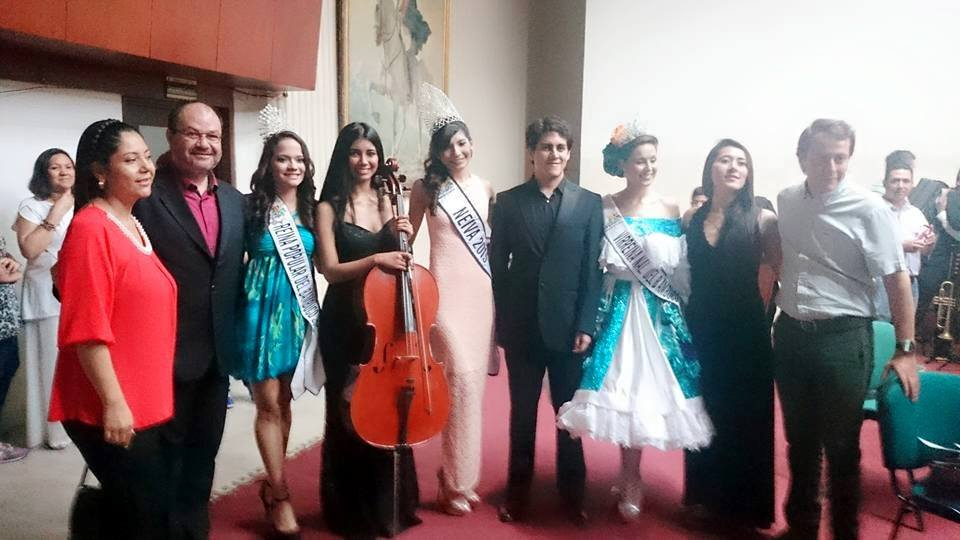With Huila Philharmonic Board and Huila
