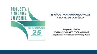 La Orquesta del siglo XXI - Sinfónica Juvenil de El Salvador Online