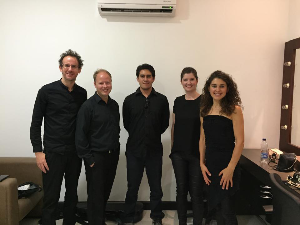 With Carducci Quartet -Ago2015