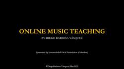 Online Music Teaching