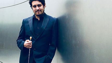 Diego Barbosa-Vasquez at Disney Concert