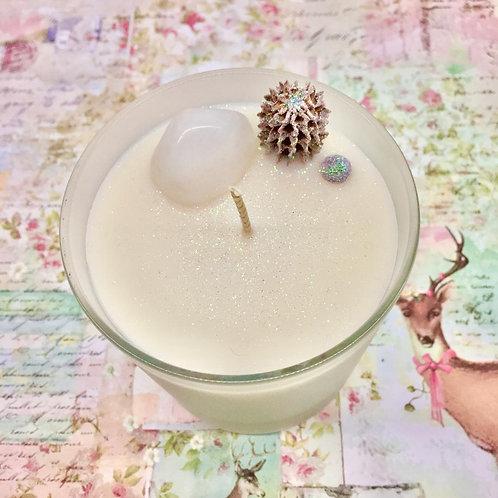 Snow Fairy Quartz Candle