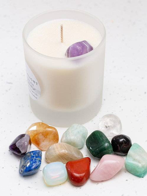 The Birthstone Crystal Candle Collection