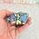 Thumbnail: Rainbow Amethyst Crystal Cluster C15