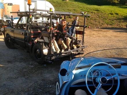 voiture travelling tournage Publicite