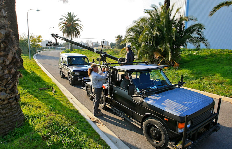voiture travelling camera car Multipass