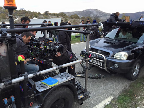 voiture travelling camera car multipass movie
