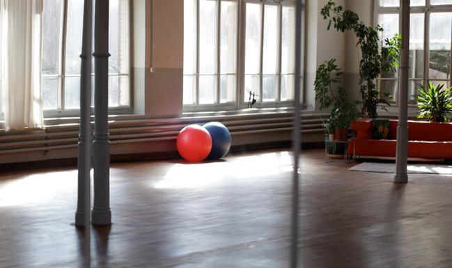 Kursraum für Tanz und Bewegung