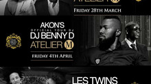 Atelier M Parties Sound and lights by Phoenix LAS