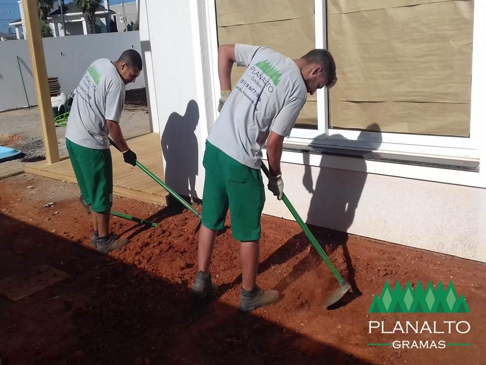 Como nivelar o terreno para plantar grama - Planalto Gramas